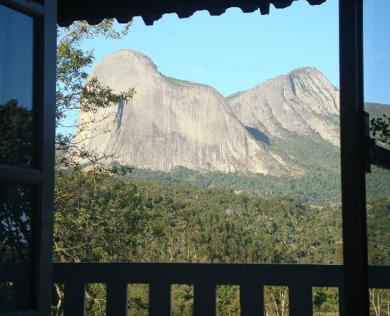 Pousada Rabo do Lagarto: vista da janela do quarto