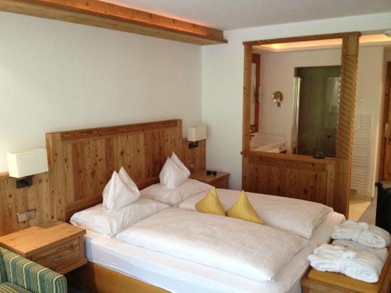 Hotel Chalet Tianes: La camera