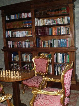 Hotel Torre Dei Calzolari Palace: La Biblioteca