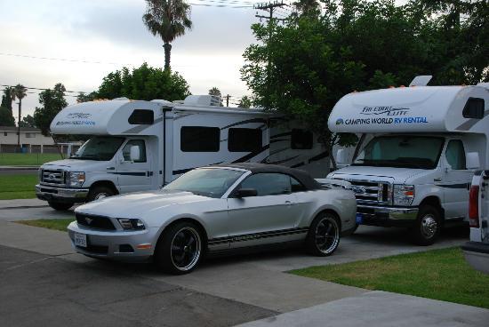 Anaheim RV Park: campsite