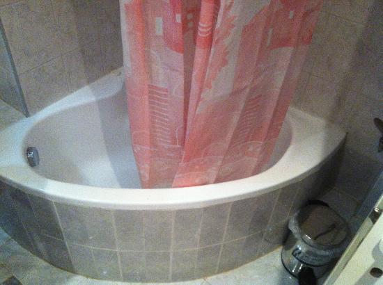Plaza Hotel: Tub/Shower