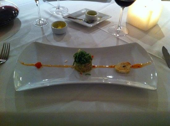 Fuy Santiago: the appetizer, you eat with your eyes first