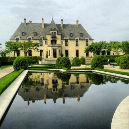 Oheka Castle: View from the Garden