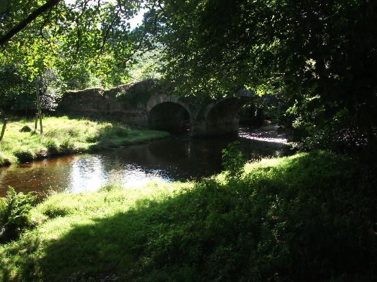 Riversdale House: The 17th Century bridge, on the Green Road from Glendalough