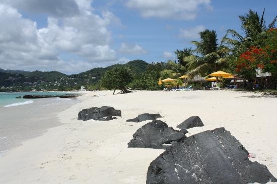Mount Cinnamon Resort & Beach Club: Mt Cinammon's private beach
