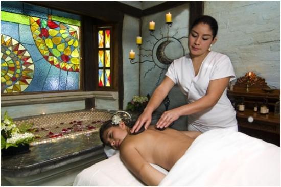 Samari Spa Resort: Relajantes masajes