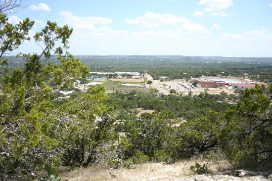 Cypress Creek Cottages: view from Prayer Mountain