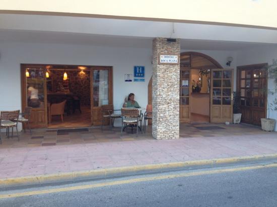 Hostal Roca Plana : ingresso