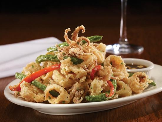 Crispy kung pao calamari picture of mitchell 39 s fish for Mitchell s fish market locations