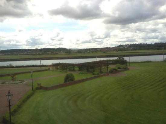 Golden Jubilee Conference Hotel: view of the river from the room