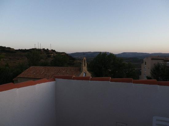 La Castellana: vue du balcon