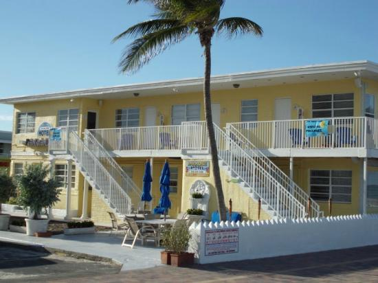 Paradise Oceanfront Hotel: Bright and Sunny