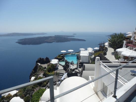 Zenith Blue: La vista dal nostro balcone