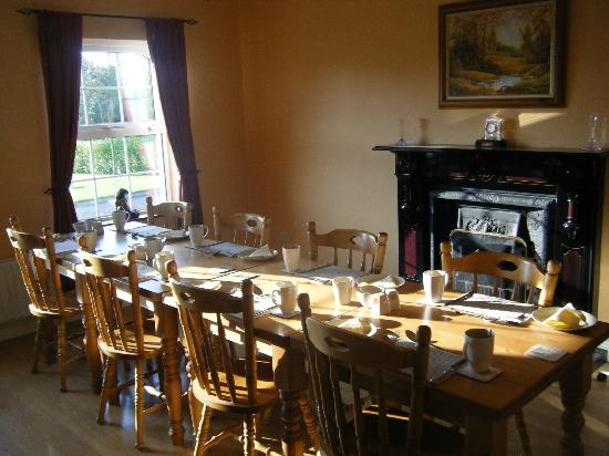 Ashbrook House: Breakfast Room