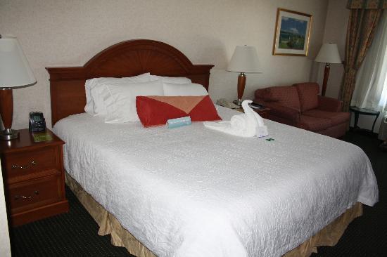 Hilton Garden Inn San Mateo: extra touch