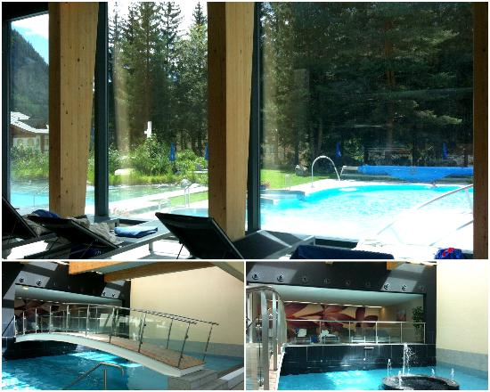 The Indoor Resting Area And Also Indoor Pool Picture Of Hotel Le Bristol Leukerbad Tripadvisor