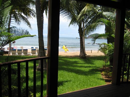 Club Med Ixtapa Pacific: The view from our Suite's porch