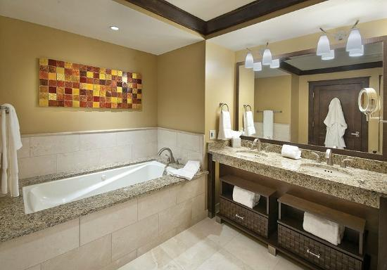 Constellation Residences at Northstar: Constellation At Northstar Luxurious Bathrooms with Dual Sinks  Jetted Soaking Tubs