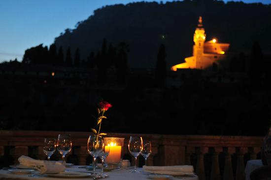 Restaurante Valldemossa: The view from the table on the terrace