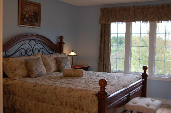 Arnica Bed & Breakfast: Winter room (King size bed)