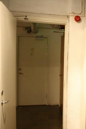 2kronor Hostel - Vasastan: our room's door