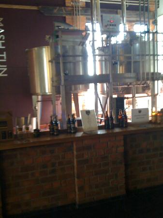 Ludlow Brewing Company: Brewing equipment