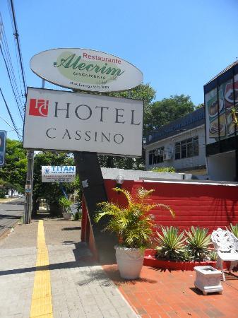 Hotel Cassino Iguassu Falls: Entrada do hotel