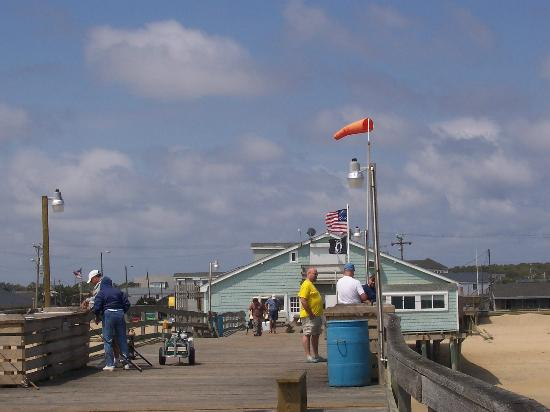 Avalon Fishing Pier: On the pier looking at the pier house