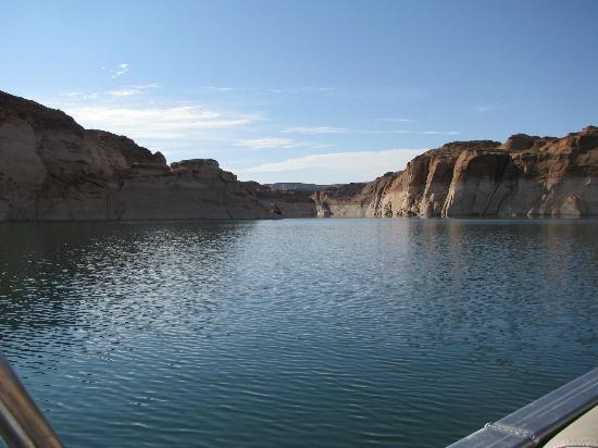 Antelope Point Marina Village: Beautiful canyon to boat through