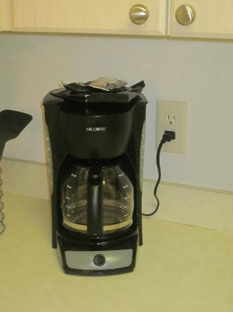Myrtlewood Villas: Coffee maker