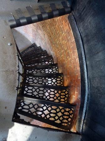 Highland Light: Looking down the steps