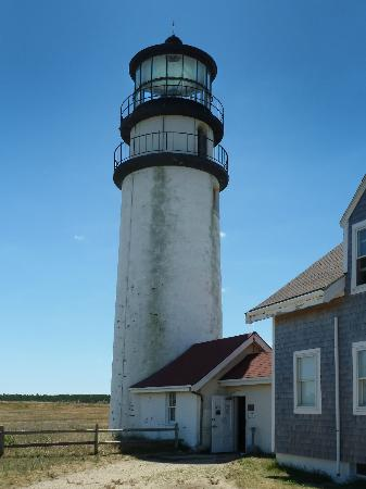 Highland Light: Highland (in Cape Cod) Light  was the first in the nation to have a flashing light.