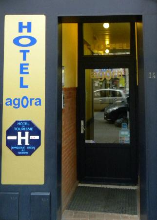 Hotel Calm : Agora Hotel Entrance Door