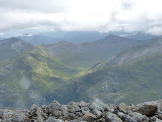 Ben Nevis: From the top...