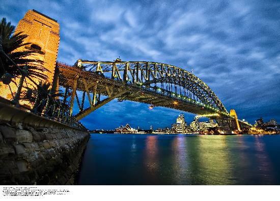 ‪أستراليا: Sydney Harbour Bridge