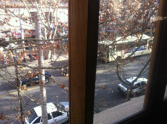 Hostal Confluencia: Vista desde la habitación 23 (3er piso)