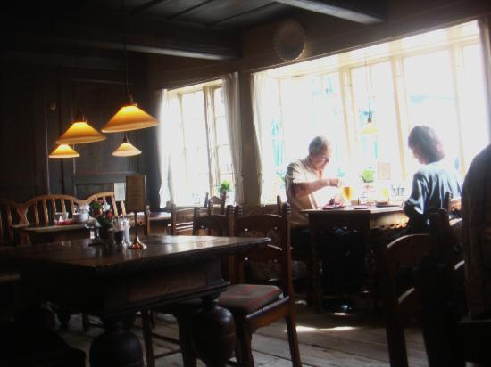 Weis Stue: inside of the restaurant