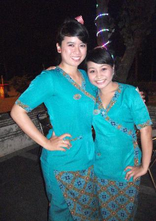 Melasti Legian Beach Resort & Spa: Two of the friendly and experienced staff.