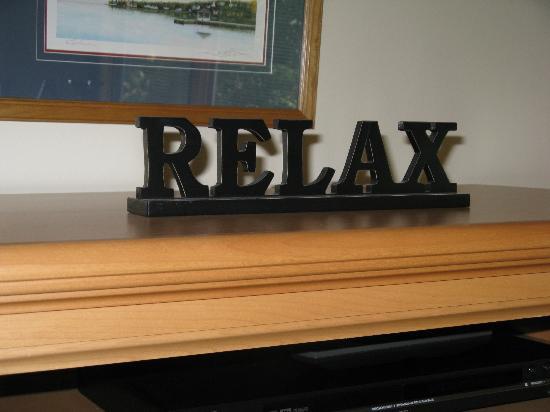 The Landing Resort : Relax