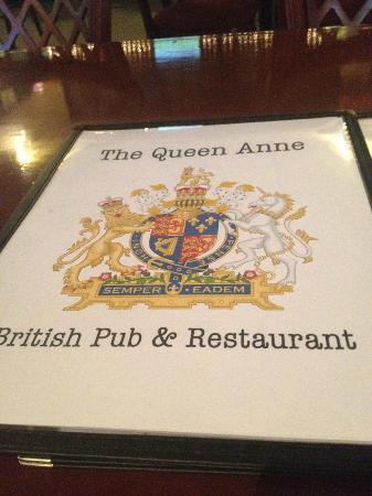 Queen Ann British Pub & Restaurant: Queen Anne British Pub MENU