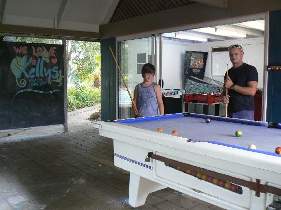 Kelly's Beach Resort: Games Area