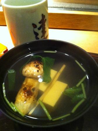 Tatsuya: Cold Mushroom Soup