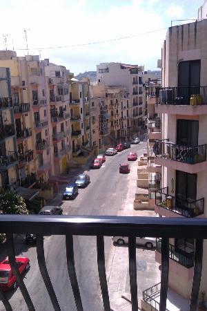 Bella Vista Hotel: Vista desde nuestra habitación