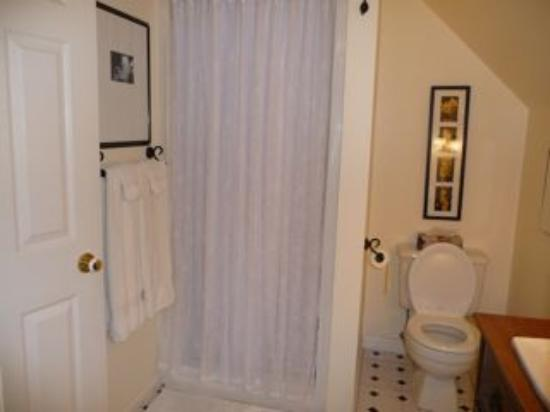 Blue Willow Guest House: Garden Suite Bathroom 2