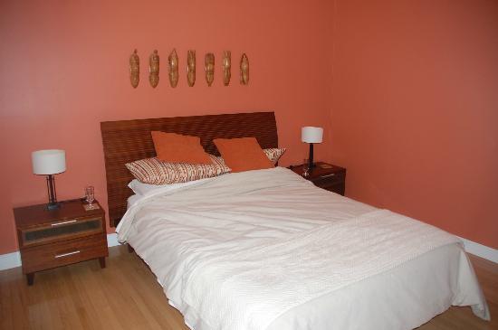 Au Coeur Urbain: Very nice bed