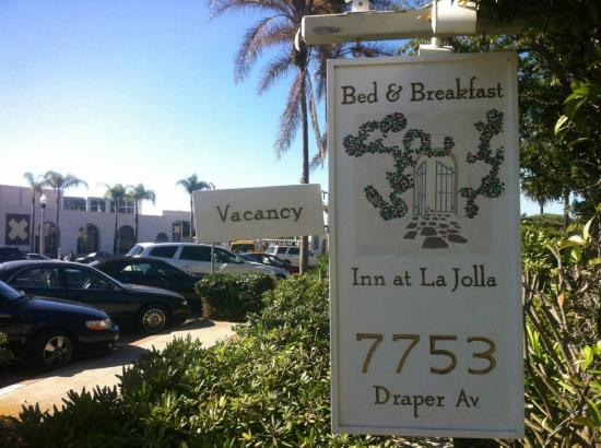 The Bed & Breakfast Inn at La Jolla : entry