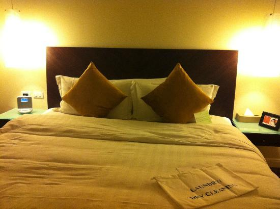 Ascott Makati: bed