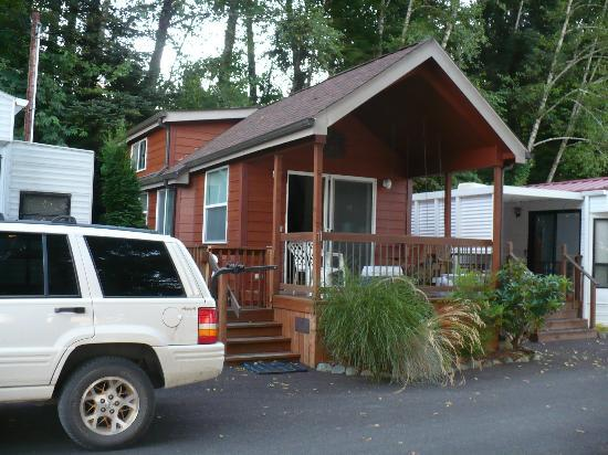 Nehalem River: The Cabin