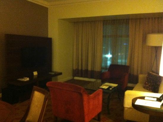 Ascott Makati: living room