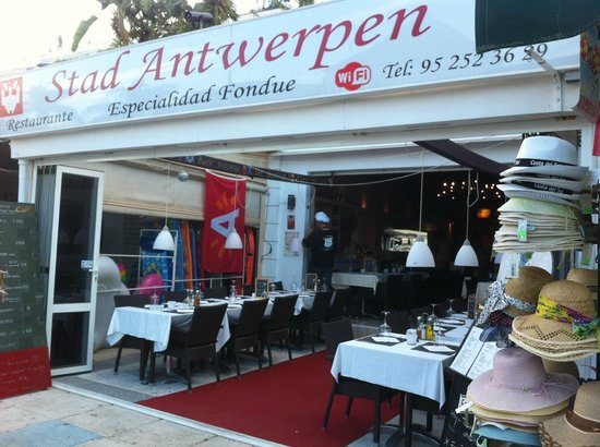 Stad Antwerpen - entrance on Burriana Beach